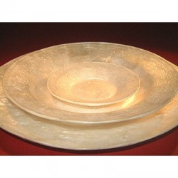 Capiz Shell Dining Plate - Large